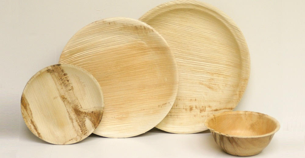 Palm Leaf Plates - Round Collection